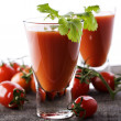Fresh Tomato juice or Bloody Mary — Stock Photo