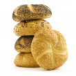 Stack of Bread — Stock Photo