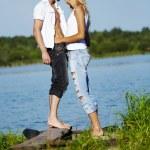 Enamoured pair — Stock Photo