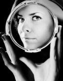 Bewitching portrait of beautiful girl — Stock Photo