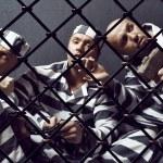 Three prisoners. — Stock Photo