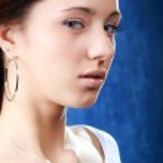 Beautiful brunette Caucasian girl — Stock Photo #1664944