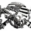 Piracy emblem. — Foto Stock
