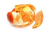 Orange and rind cutaway — Stock Photo