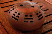 Incense burner for aromas — 图库照片
