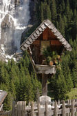 Christian wayside shrine — Stock Photo