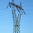 High voltage power Line — Stock Photo