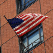 American Flag - waving — Stock fotografie