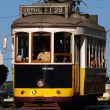 Typical Lisbon Tram — Stock Photo