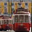 Typical Lisbon Tram — Stock Photo #1591642