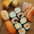 Sushi - Japonese food — Stock Photo