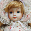 Retro porcelain doll - Photo