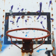 Basketball hoop (background) — Stock Photo #1261157