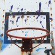 Basketball hoop (background) — Stock Photo