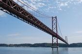 Ponte de lisboa - 25 de abril — Foto Stock