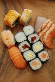 Sushi - Japonese food — Stock Photo