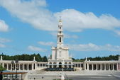 View of the Sanctuary of Fatima, in Port — Stock Photo