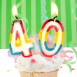 Royalty-Free Stock Photo: 40th birthday