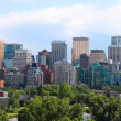 Calgary office buildings - Stock Photo