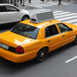 Stock Photo: New York city cab