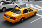 New York city cab — Stock Photo