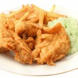 Southern fried chicken dinner — Stock Photo #1969360