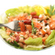 Healthy vegetarian bean salad — Stock Photo #1969423