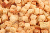 Seasoned croutons — Stock Photo