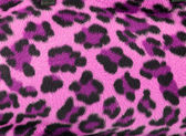 Pink leopard faux fur background — Stock Photo