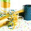 Colorful gift wrapping and ribbons — Stock Photo #1970331