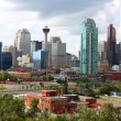Calgary office buildings — Foto de Stock