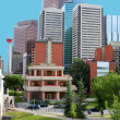Calgary buildings — Stock Photo