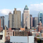 New York buildings — Stock Photo