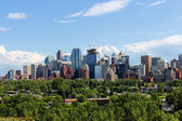 Calgary office buildings — Foto Stock