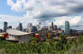 Calgary office buildings — Stock Photo