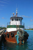 Tugboat in Nassau port — Stock Photo