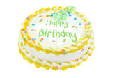 Happy birthday festive cake — Stock Photo