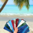 Tropical spending — Stock Photo