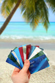 Tropical spending — Stock Photo