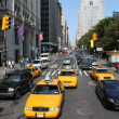 Typical New York city traffic — Stock Photo