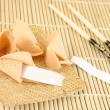 Blank fortune cookies — Stock Photo