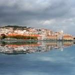 Лиссабон Скайлайн — Стоковое фото