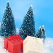 Winter christmas presents — Stock Photo #2290433
