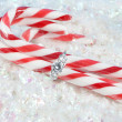 Christmas engagement — Stockfoto