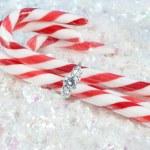 圣诞节订婚 — 图库照片