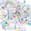 Colorful celebration ribbon — Stock Photo