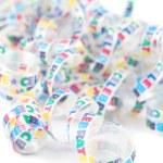 Colorful celebration ribbon — Stock Photo