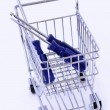 Tools in shopping cart - Stock Photo