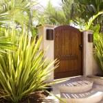 Luxury House Gate XXL — Stock Photo