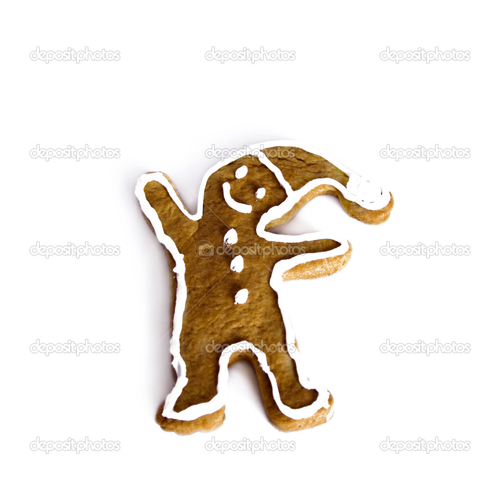 Gingerbread man — Stock Photo #1259985